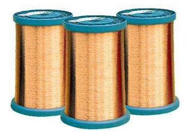 240级芳香族聚酰亚胺特微细漆包铜圆线研发  240 special fine aromatic polyimide enamelled round copper wire research and development