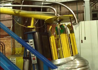 高效环保钢丝/长材热镀锌及合金生产线  Hot-dip galvanizing and galfanize line for wire and profile steel with high efficiency and no pollution