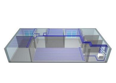 毛细管网栅辐射空调系统