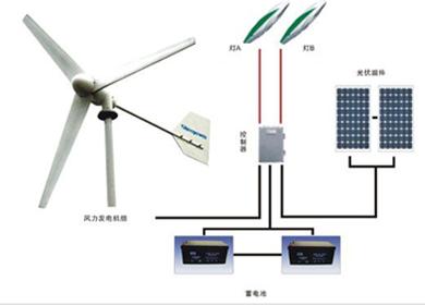 风光互补供电/路灯系统