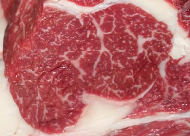 利用本地牛生产雪花牛肉研究