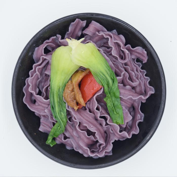 紫薯风味挂面